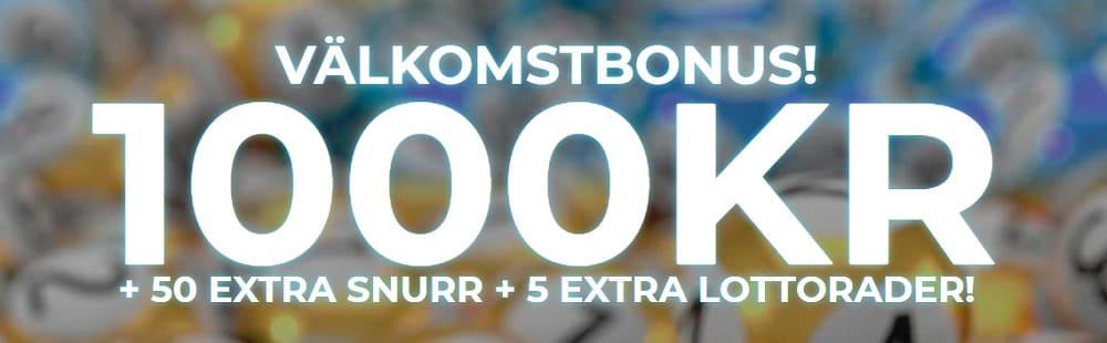 1000kr i bonus